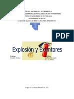 Explosion y Extintores