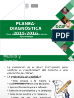 Evaluación Formativa Planea Diagnostica