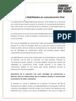 Desarrollo de Habilidades Comunicativas (Ing. Civil)