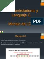 Manejo de LCD