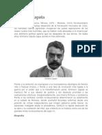 Biografia de Emiliano Zapata