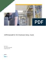 SAP Sybase IQ 16 Hardware Sizing Guide
