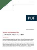Aldo Ferrer. La Relación Campo-Industria. El Dipló. Sept. 2015