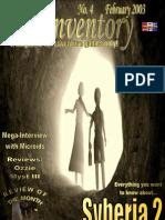 Inventory 4 - February 2003