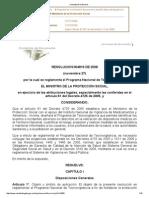Resolucion 004816 de 2008