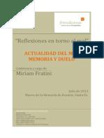Reflexiones en Torno Al Mal. Fratini