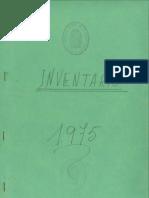 Inventario Parroquia Ntra. Sra. de la Luz 1975