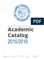 Siebel Institute Academic Catalog