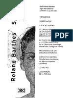 Barthes Roland - SZ, Ed. Siglo XXI