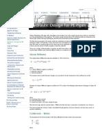 Hydraulic Design for PE Pipes _ VinidexVinidex