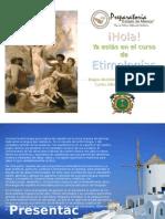 Etimologias p1 e