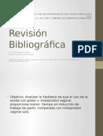 Revisión misoprostol