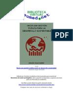 Arnoletto Gestión Pública Para El Desarrollo Sustentable