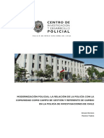 La Modernización Policial Chile