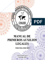 Manual legales Conadeh Primeros Auxilios Legales