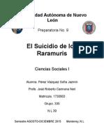 El Suicidio de Los Raramuris