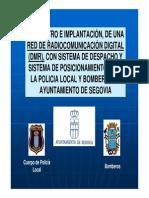 Red de Radiocomunicacion Digital, Presentacion