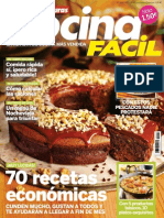 Revista Cocina Fácil Enero 2015