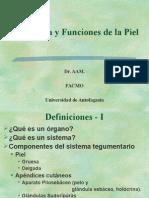 Piel Estructura y Funciones 2015