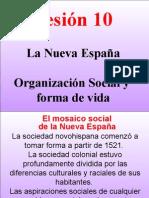 ORGANIZACION SOCIAL NVA ESPAÑA.ppt
