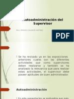 Autoadministración Del Supervisor