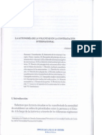 Contratacion Internacional Autonomia de La Voluntad