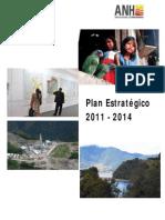 Plan Estratégico 2011 - 2014 Anh