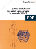Rituri şi ritualuri funerare în spaţiul extracarpatic în secolele VIII – X, de Cristian Luca şi Dragoş Măndescu