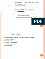 Resenha e Relatório (1)