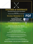 2015 Badges of Courage Flyer