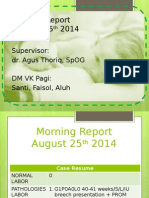 Morning Report 25-8-14