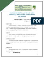 Instrumentos Proceso de Enf. Actualizado Agosto de 2015
