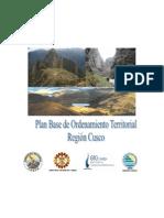 ordenamiento territorial de  la region de cusco