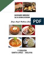 Diccionaio culinarioBolivia
