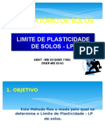 Ensaio Plasticidade