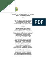 Provincias del Ecuador, con Bandera Escudo e Himno