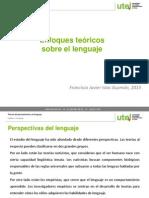 Enfoques Teoricos Sobre El Lenguaje