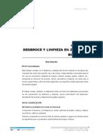 201.b Desbroce y Limpieza