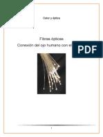 Calor y Óptica-fibras Ópticas, Relacion Del Ojo Humano y El Cerebro