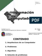 Programacion de computadores