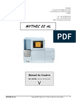 Manual MYTHIC 22 AL Versão 08 Mai 11