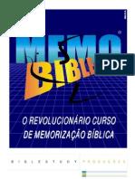 CURSO MEMO BIBLE3000