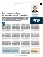 Revue Analyse Financiere-30!07!08