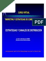 8) Estrategias y Canales de Distribución