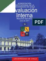 Informe de Evaluacion Interna u de Chile