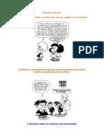 Derechos Del Niño mafalda