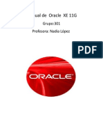Manual de Oracle XE 11G PDF 12