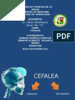 CEFALEA (SEMIOLOGÍA