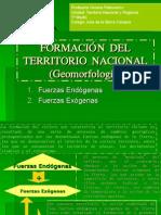 Formación Del Territorio Nacional