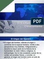 El Evolucionismo y Creacionismo